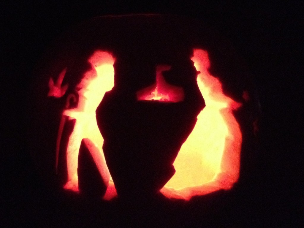 The Night Circus Jack o Lantern