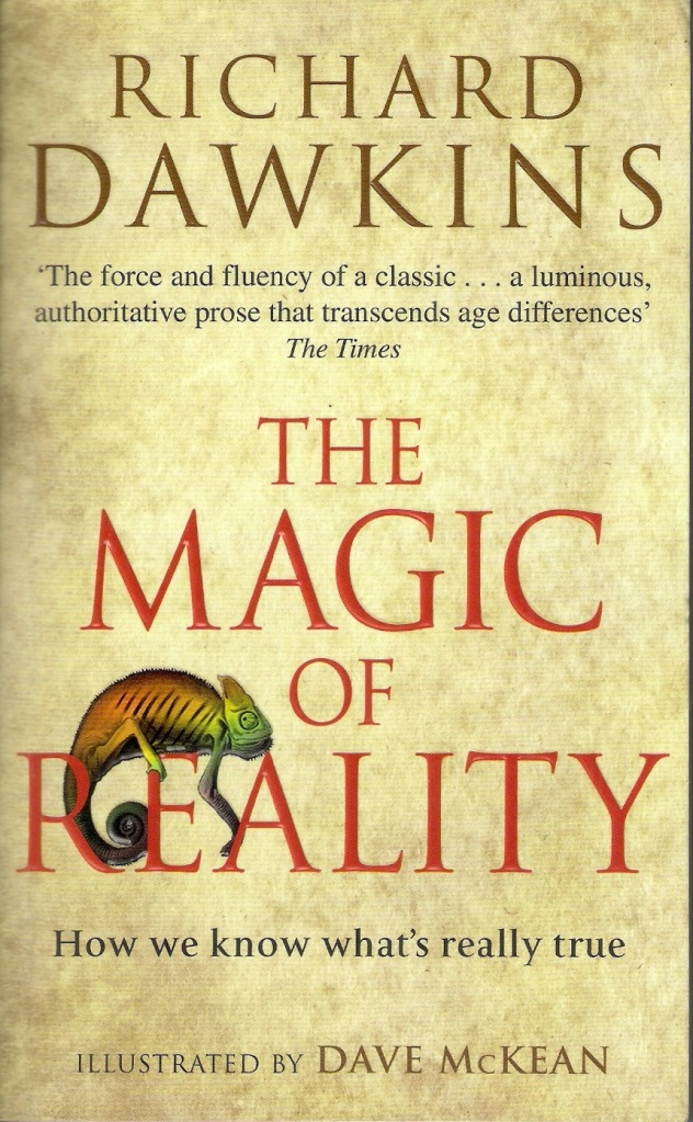 Cover Image for The Magic of Reality Paperback Edition by Richard Dawkins