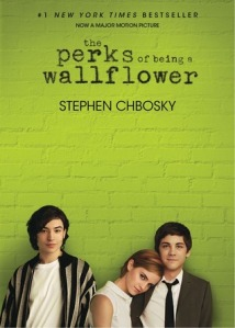 Cover image for The Perks of Being a Wallflower Movie Tie In Edition by Stephen Chbosky