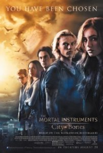 Movie poster for City of Bones