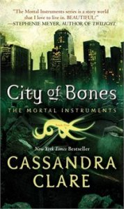 cover image for city of bones by Cassandra Clare