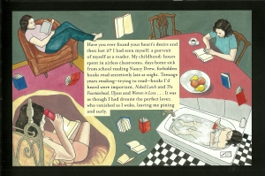 Sample page from The Night Bookmobile by Audrey  Niffenegger