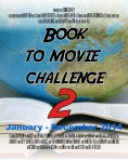 Challenge Badge for the 2014 Book to Movie Challenge
