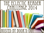 Challenge Badge for the 2014 Eclectic Reader Challenge hosted by Book'd Out