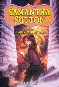 Cover image for Samantha Sutton and the Labyrinth of Lies