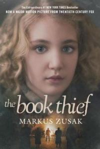Movie tie in cover image for The Book Thief by Markus Zusak