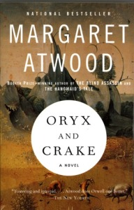 Cover image for Oryx and Crake by Margaret Atwood