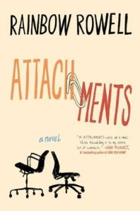 Cover image for Attachments by Rainbow Rowell