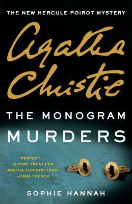 Cover image for Agatha Christie's The Monogram Murders by Sophie Hannah