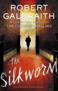 Cover image for The Silkworm by J.K. Rowling writing as Robert Galbraith