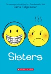 Cover image for Sisters by Raina Telgemeier