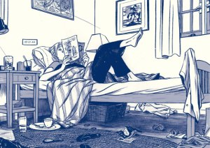 Page from This One Summer by Mariko and Jillian Tamaki