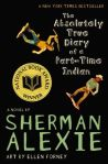 Cover image for The Absolutely True Diary of a Part-Time Indian by Sherman Alexie