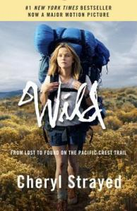 Movie tie-in cover for Wild by Cheryl Strayed