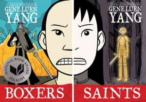 Cover images for Boxers & Saints by Gene Luen Yang