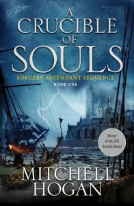 Cover image for A Crucible of Souls by Mitchell Hogan