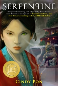 Cover image for Serpentine by Cindy Pon