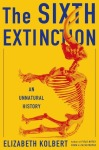 Cover image for The Sixth Extinction by Elizabeth Kolbert