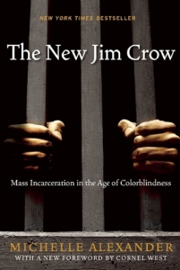 Cover image for The New Jim Crow by Michelle Alexander