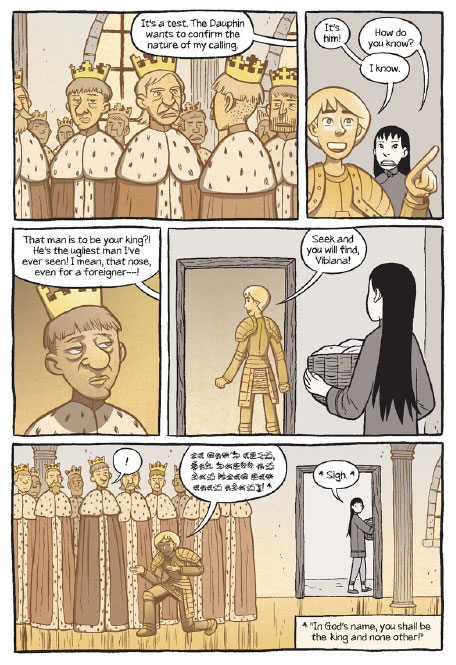 Panel from Saints p86
