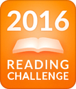2016 Goodreads reading challenge image.