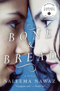 Cover image for Bone and Bread by Saleema Nawaz