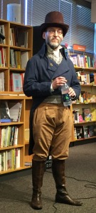 David D. Levine at University Bookstore Seattle, July 29, 2016
