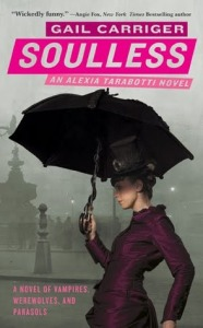 Cover image for Soulless by Gail Carriger