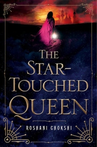 Cover image for The Star-Touched Queen by Roshani Chokshi