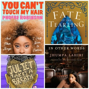 Cover images for my readathon TBR