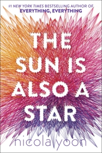 Cover image for The Sun is Also a Star by Nicola Yoon