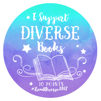 I Support Diverse Books - 10 Points - Read Diverse 2017