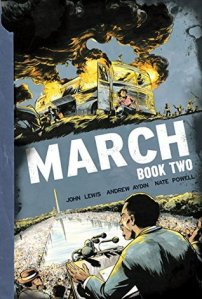 Cover image for March: Book Two by John Lewis and Andrew Aydin