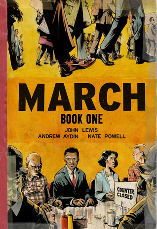 Cover image for March Book One by John Lewis and Andrew Aydin