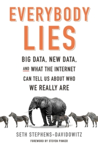 Cover image for Everybody Lies by Seth Stephens-Davidowitz