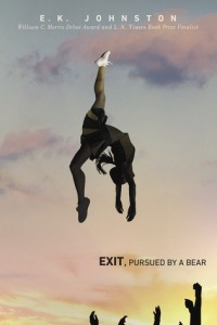 Cover image for Exit, Pursued by a Bear by E. K. Johnston
