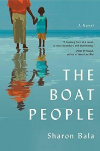 Cover image for The Boat People by Sharon Bala