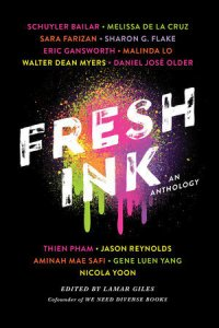 Cover image for Fresh Ink Edited by Lamar Giles