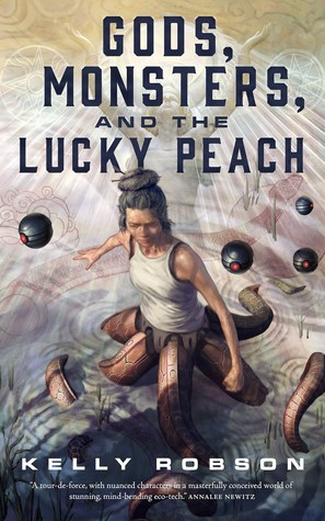 Cover image for Gods, Monsters, and the Lucky Peach