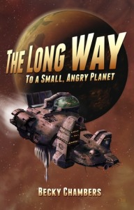 Cover image for The Long Way to a Small, Angry Planet by Becky Chambers