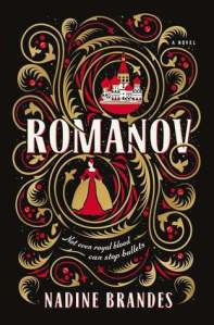 Cover image for Romanov by Nadine Brandes