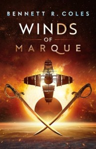 Cover image for Winds of Marque by Bennett R. Coles
