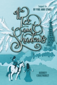 Cover image for Of Ice and Shadows by Audrey Coulthurst