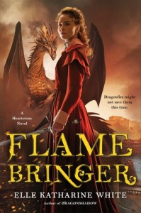 Cover image for Flamebringer by Elle Katharine White