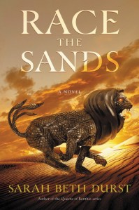 Cover image for Race the Sands by Sarah Beth Durst