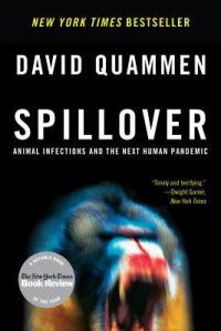 Cover image for Spillover by David Quammen