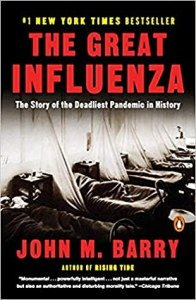 Cover image for The Great Influenza by John M. Barry