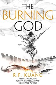 Cover image for The Burning God by R. F. Kuang