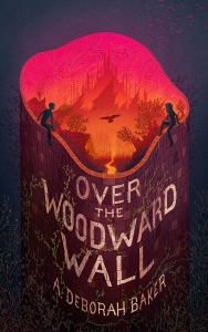 Cover image for Over the Woodward Wall by A. Deborah Baker